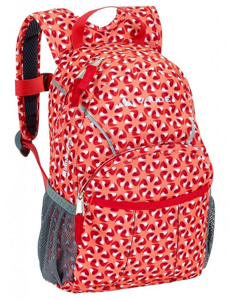 VAUDE Sport- und Freizeittasche »Minnie 4,5 Backpack Kids« in rot