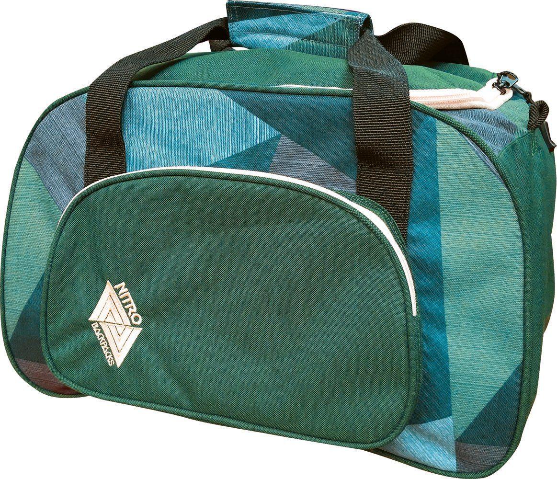Nitro Reisetasche, »Duffle Bag XS - Fragments Green«