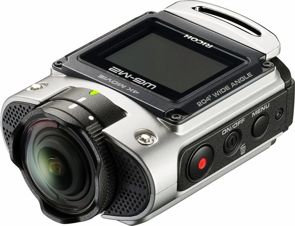Ricoh WG-M2 Action Cam, 8 Megapixel (1,5 Zoll) Display
