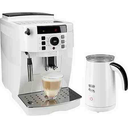 De'Longhi Kaffeevollautomat »ECAM 21.118.W«, inkl. Milchaufschäumer im Wert von 89,99€ UVP