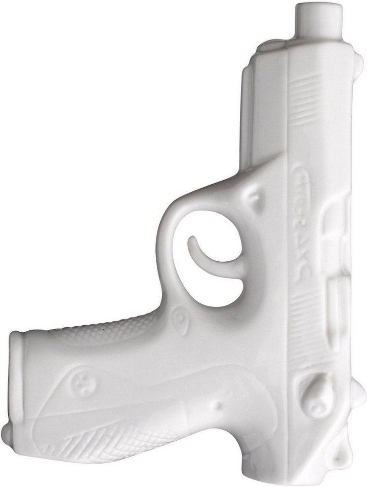 Bloomingville Vase »Pistole« in weiß
