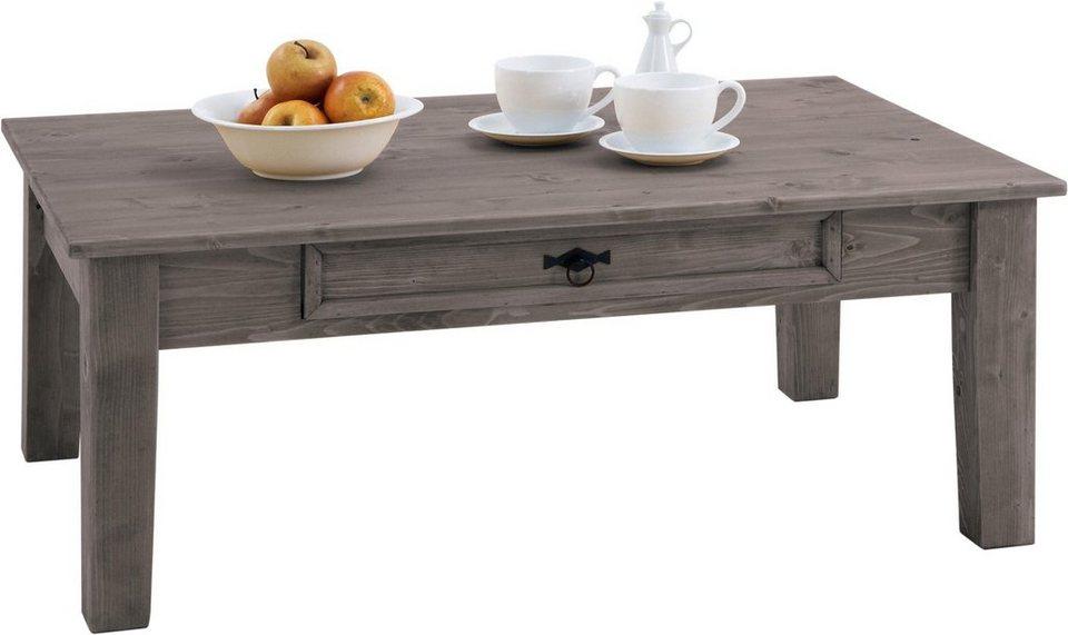 Premium collection by Home affaire Couchtisch »Burgund«, Breite 120 cm in steingrau