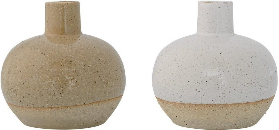 Bloomingville Vase »Barbara« (2-tlg.) in natur