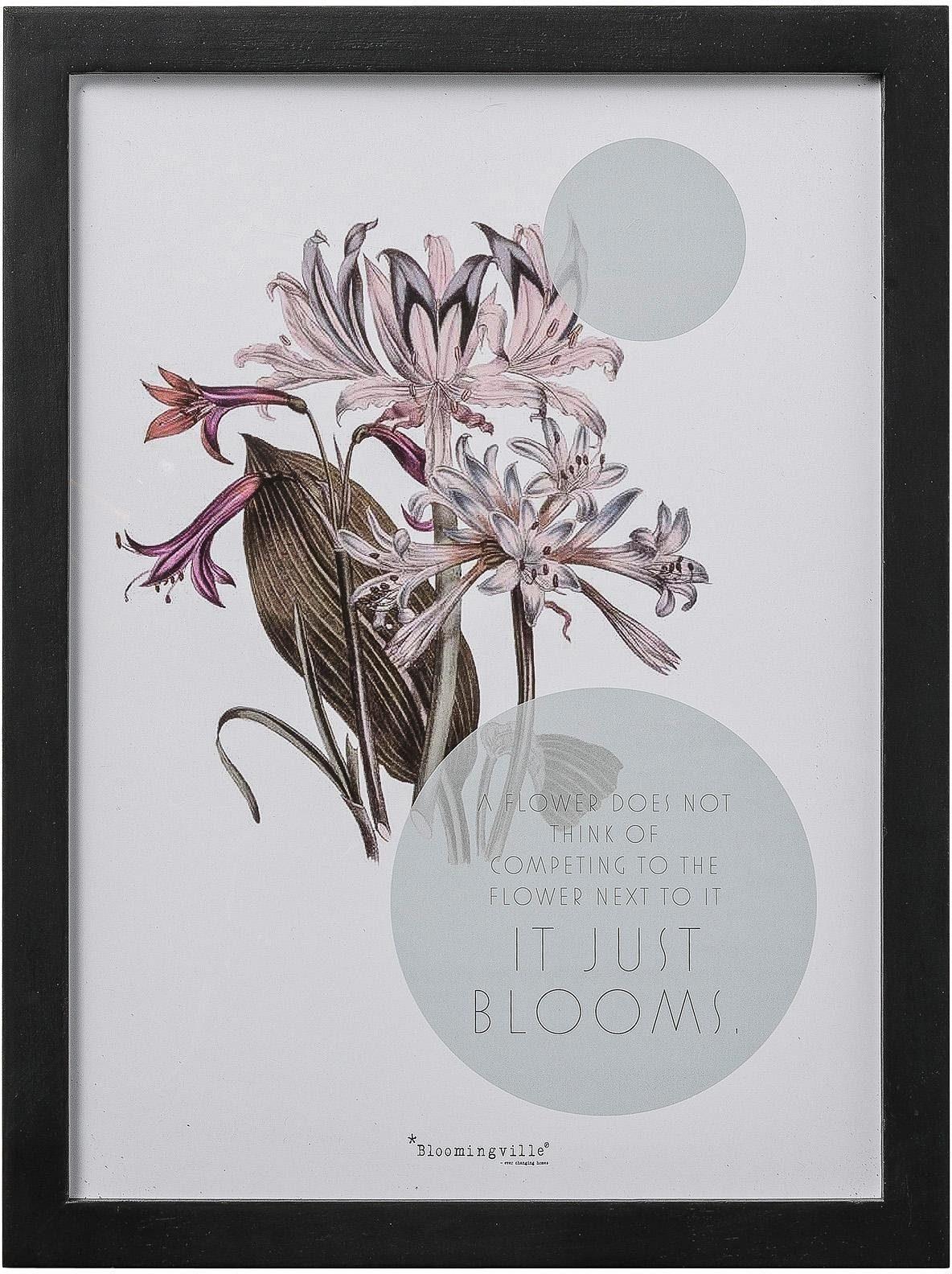 Bloomingville Bild mit Rahmen 30/40 cm