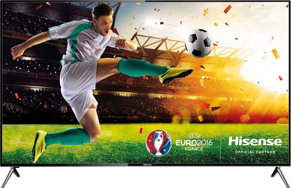 Hisense HE58KEC730, LED Fernseher, 146 cm (58 Zoll), 2160p (4K Ultra HD), Smart-TV in schwarz