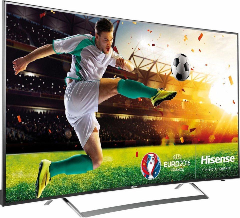 Hisense LTDN65K720, Curved-LED-Fernseher, 163 cm (65 Zoll), 2160p (4K Ultra HD), Smart-TV in schwarz
