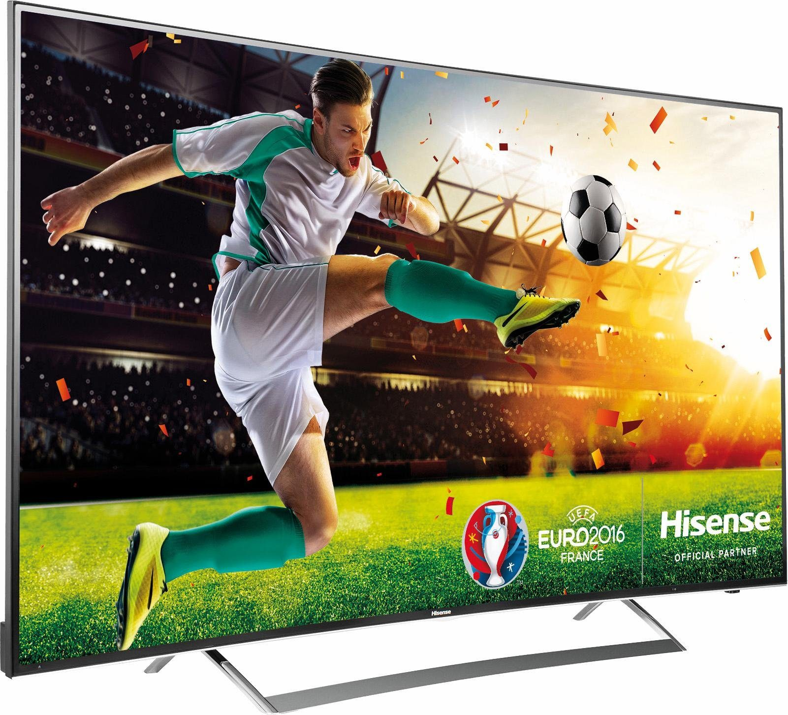 Hisense LTDN65K720, Curved-LED-Fernseher, 163 cm (65 Zoll), 2160p (4K Ultra HD), Smart-TV