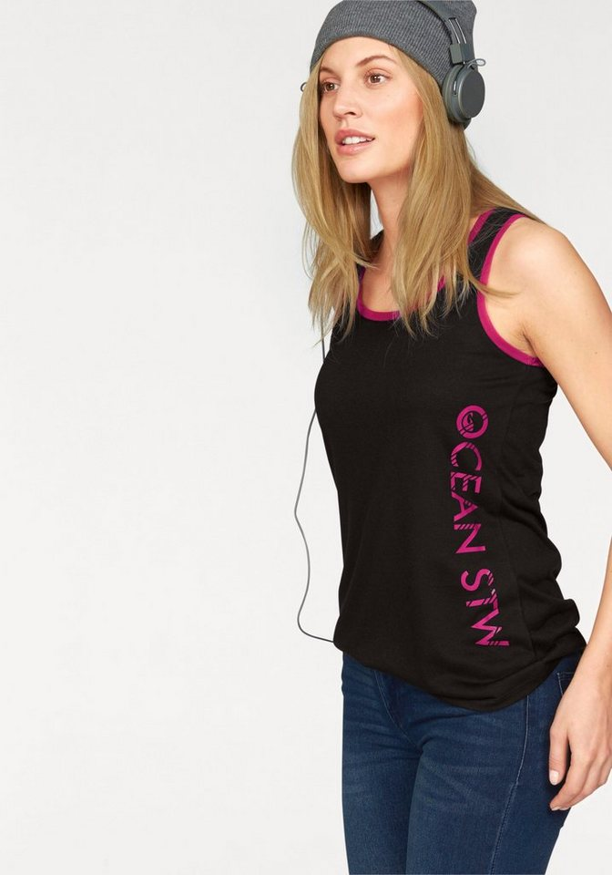 Ocean Sportswear Tanktop in schwarz