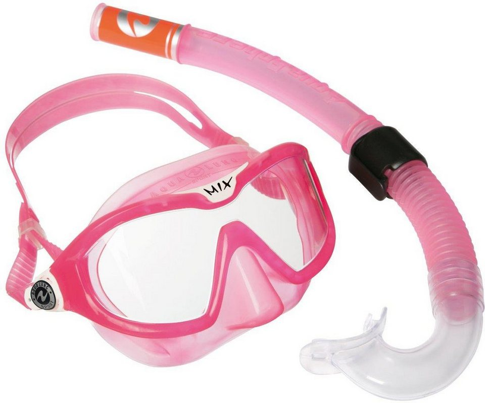 Aqua Lung Sport Kinder Schnorchelset, »Combo Mix« in pink