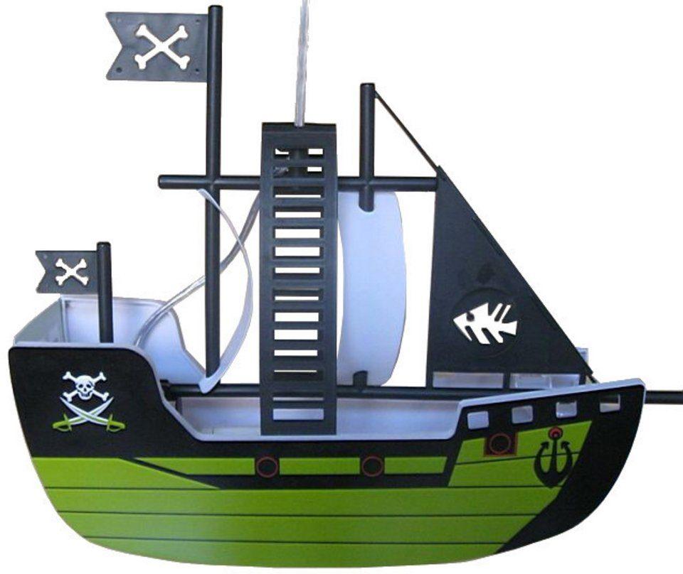 Jens Stolte Leuchten Pendelleuchte »Piratenschiff«, 1-flammig