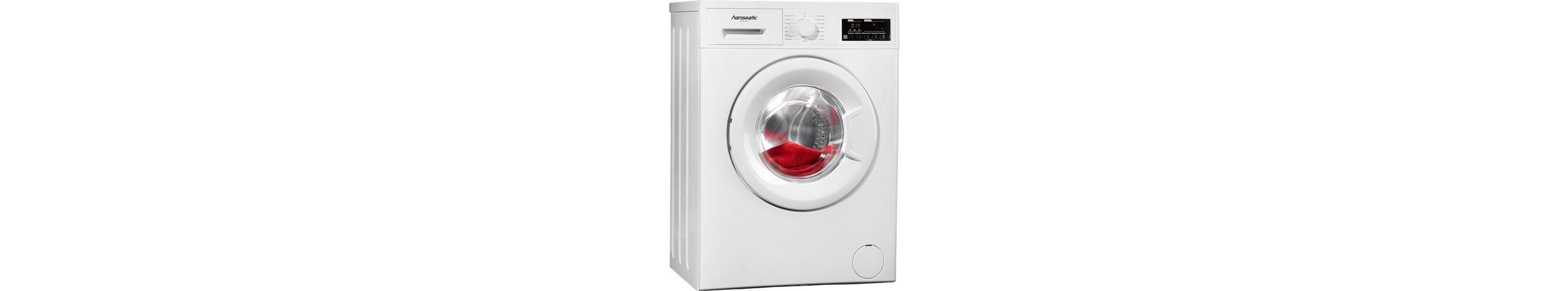 Hanseatic Waschmaschine HWM614A2, A++, 6 kg, 1400 U/Min