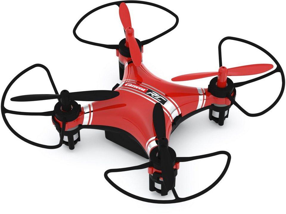 Carrera® RC Quadrocopter Komplett Set mit LED Beleuchtung, »Carrera®RC Air Micro Quadrocopter 2« in rot