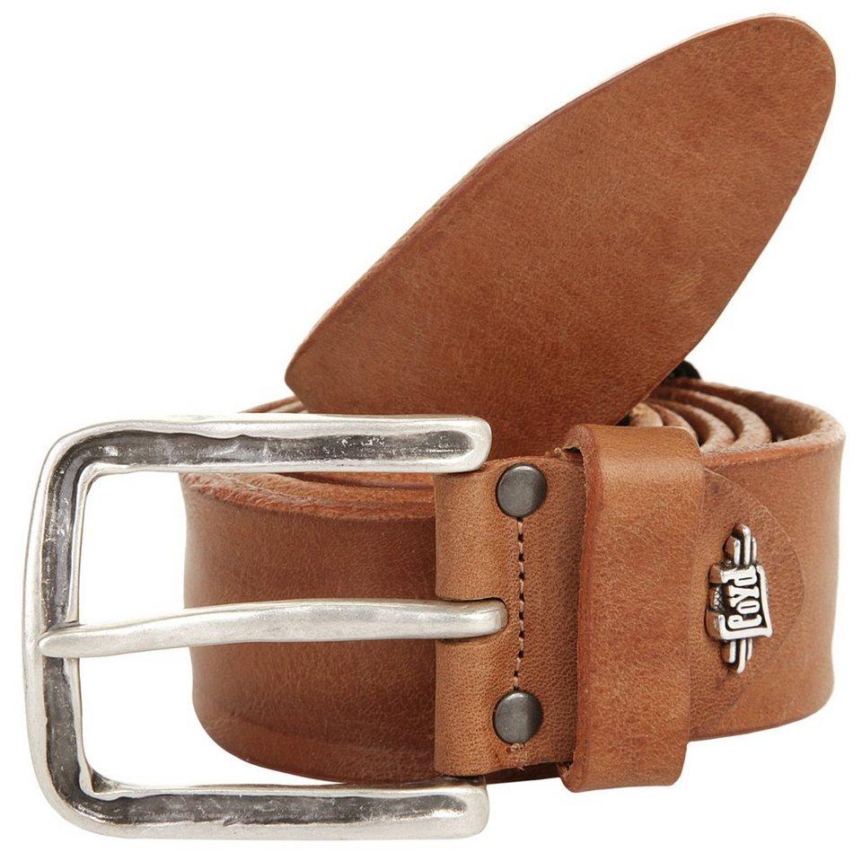 LLOYD Men's Belts Leder Herr Gürtel in cognac