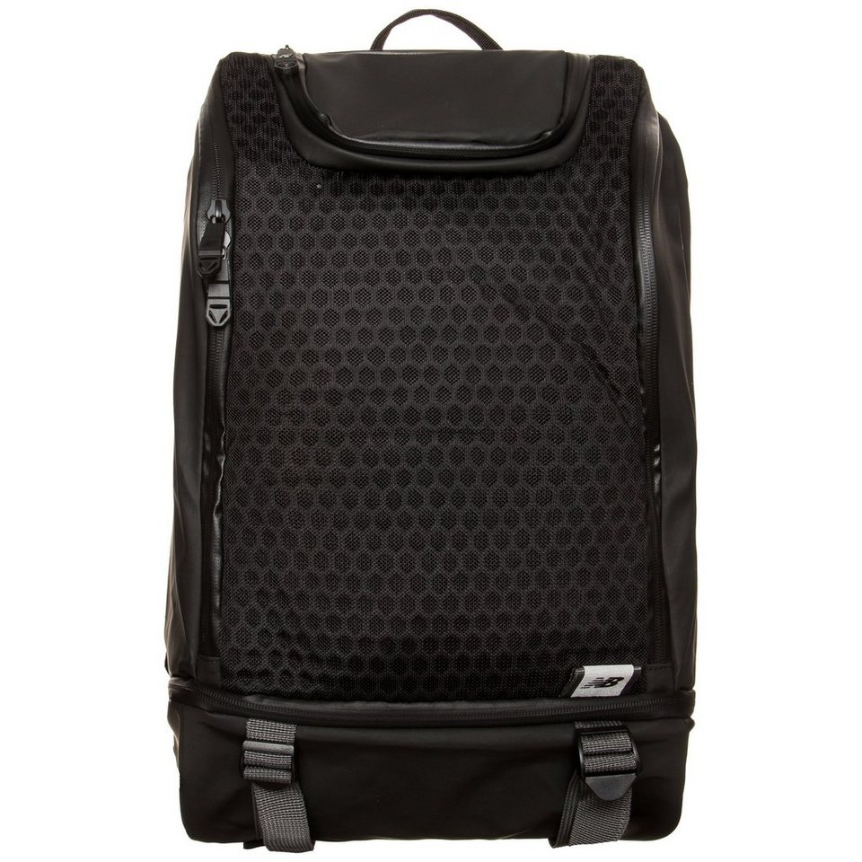 NEW BALANCE Tech Training Sportrucksack in schwarz / grau
