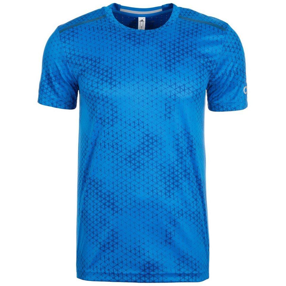 adidas Performance ClimaChill Graphic Trainingsshirt Herren in blau
