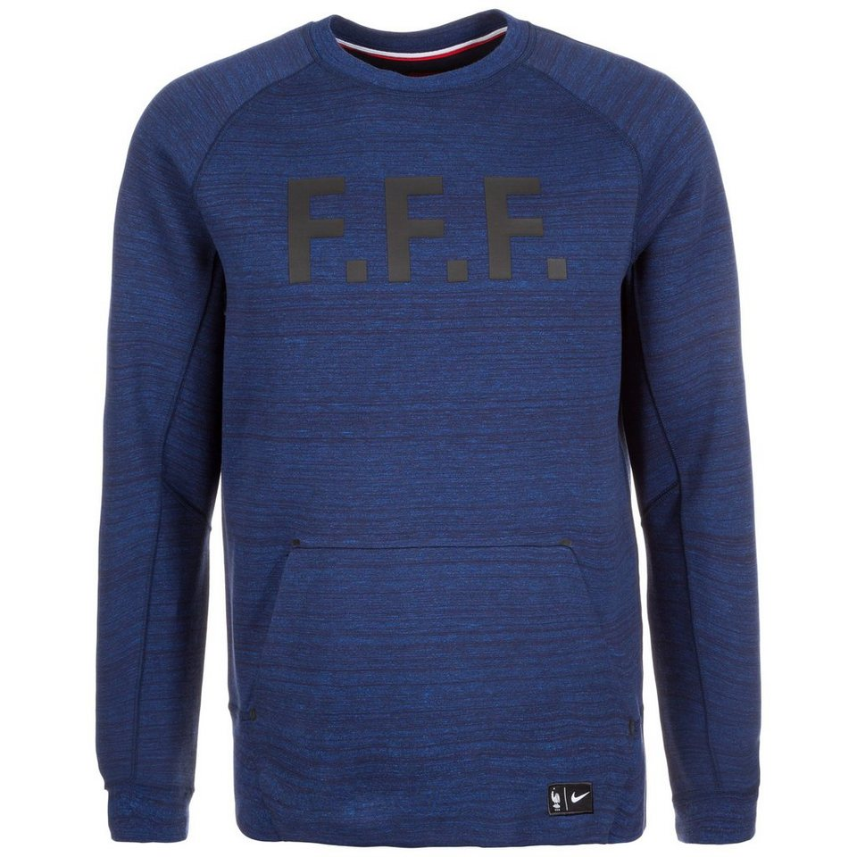 nike frankreich tech fleece crew sweatshirt em 2016 herren. Black Bedroom Furniture Sets. Home Design Ideas