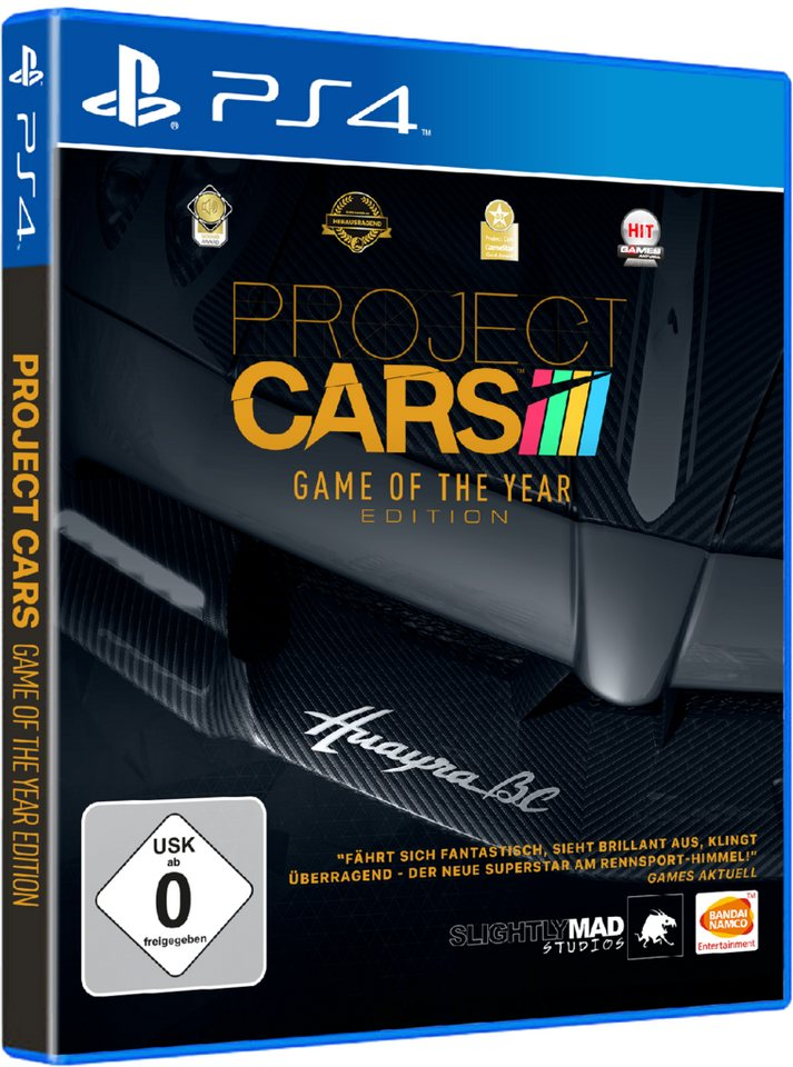 Bandai Namco Project CARS Game Of The Year Edition »(PS4)«