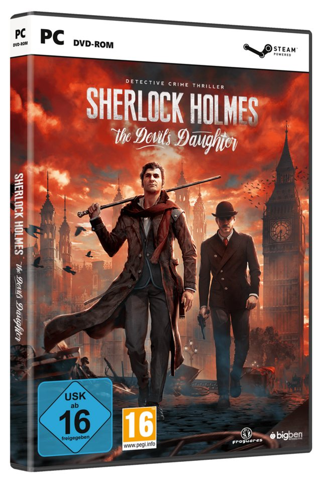 BIGBEN Sherlock Holmes: The Devil's Daughter »(PC)«