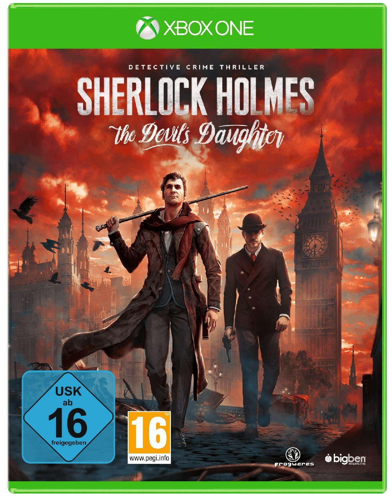 BIGBEN Sherlock Holmes: The Devil's Daughter »XBox One«
