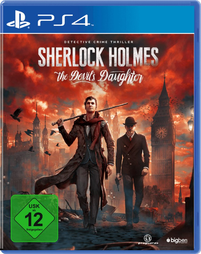 BIGBEN Sherlock Holmes: The Devil's Daughter »(PS4)«