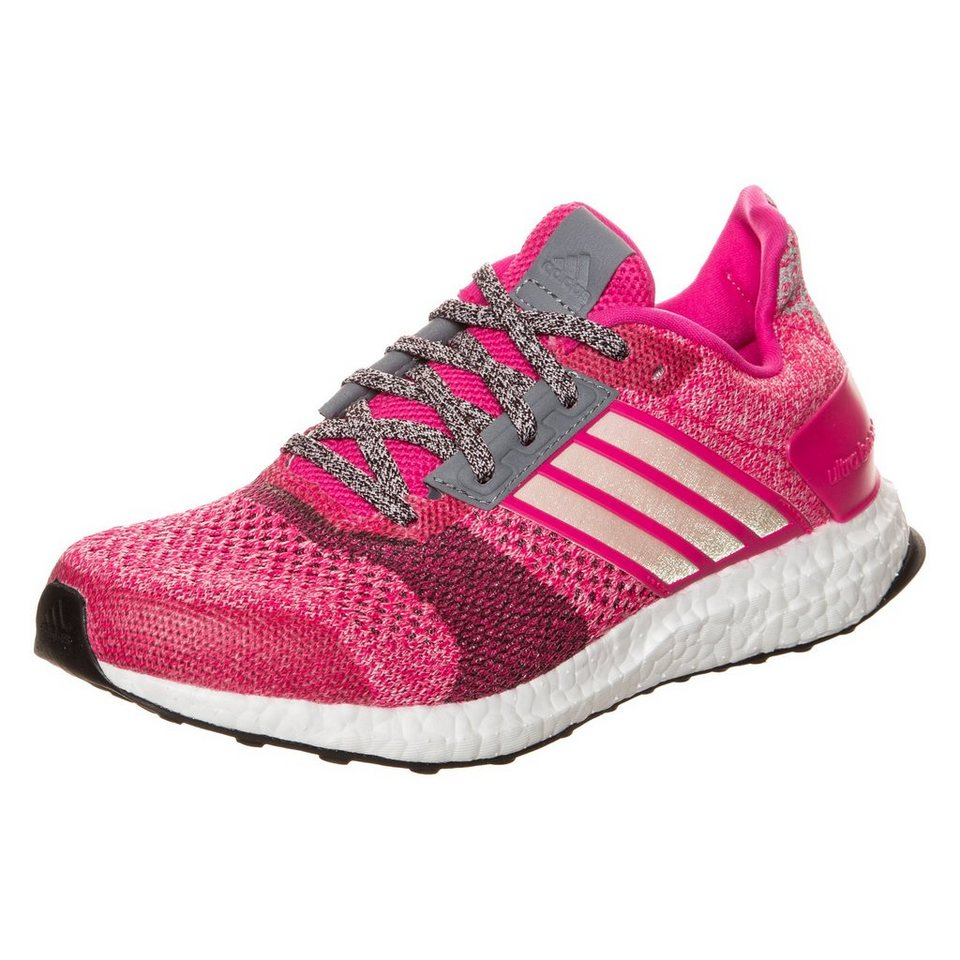 adidas Performance Ultra Boost ST Laufschuh Damen in pink / grau
