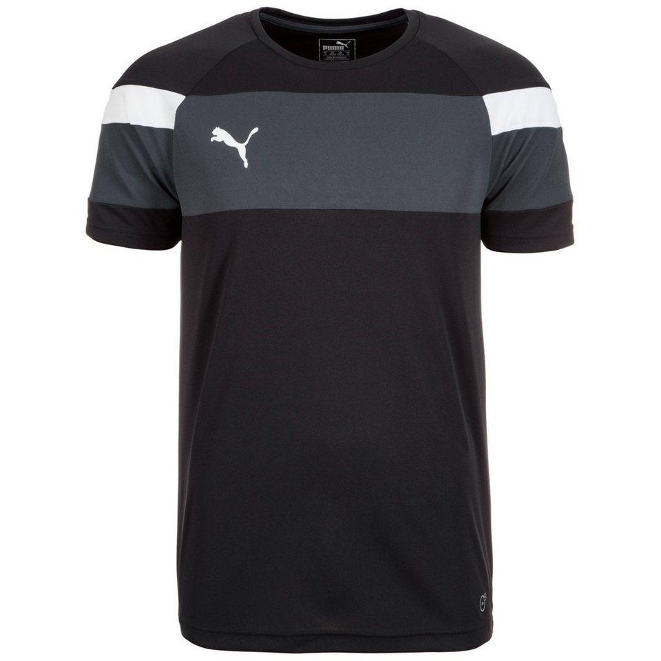 PUMA Spirit II Trainingsshirt Herren in schwarz / weiß