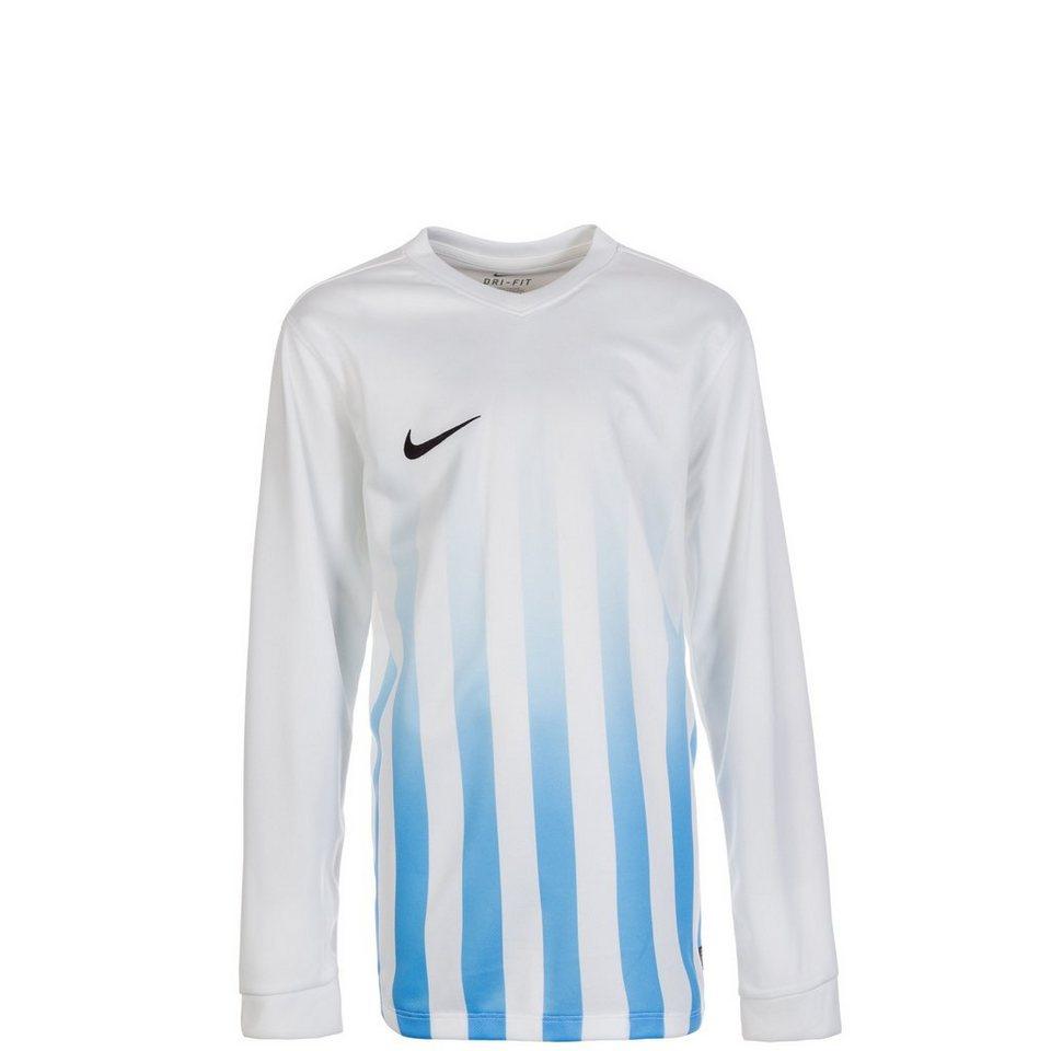 NIKE Striped Division II Fußballtrikot Kinder in weiß/ blau / schwarz