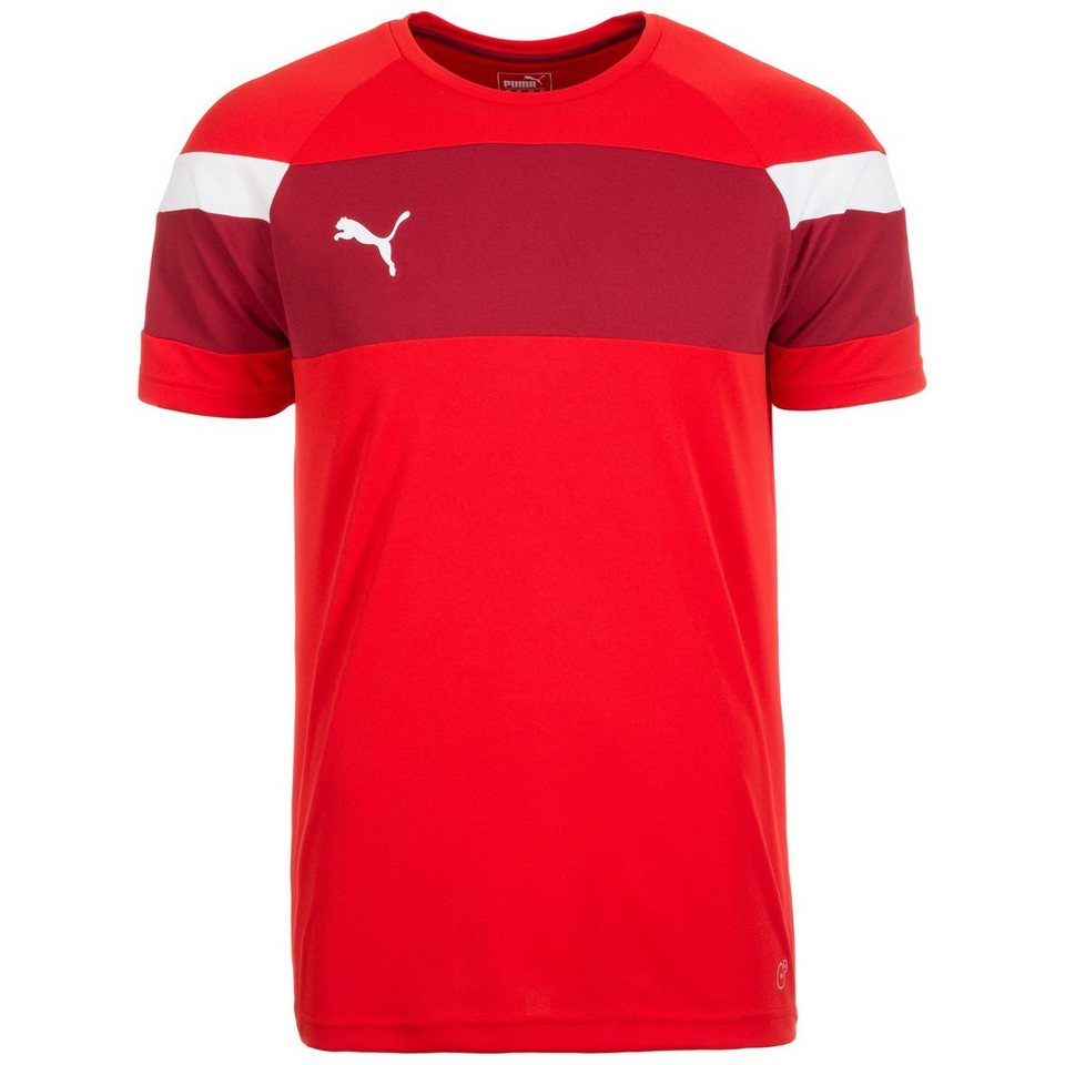 PUMA Spirit II Trainingsshirt Herren in rot / weiß