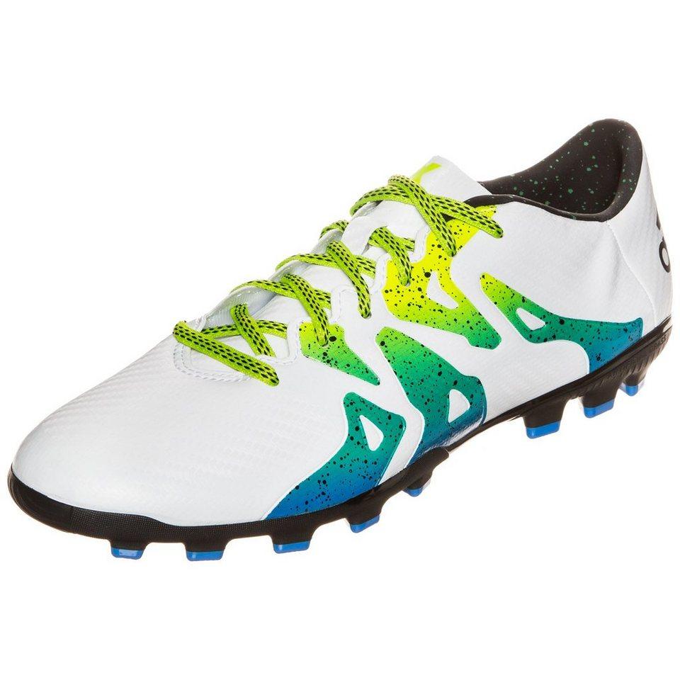 adidas Performance X 15.3 AG Fußballschuh Herren in weiß / schwarz / lim