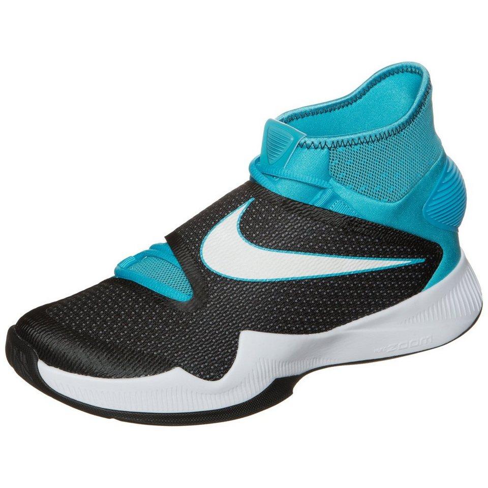 NIKE Zoom HyperRev 2016 Basketballschuh Herren in hellblau / grau