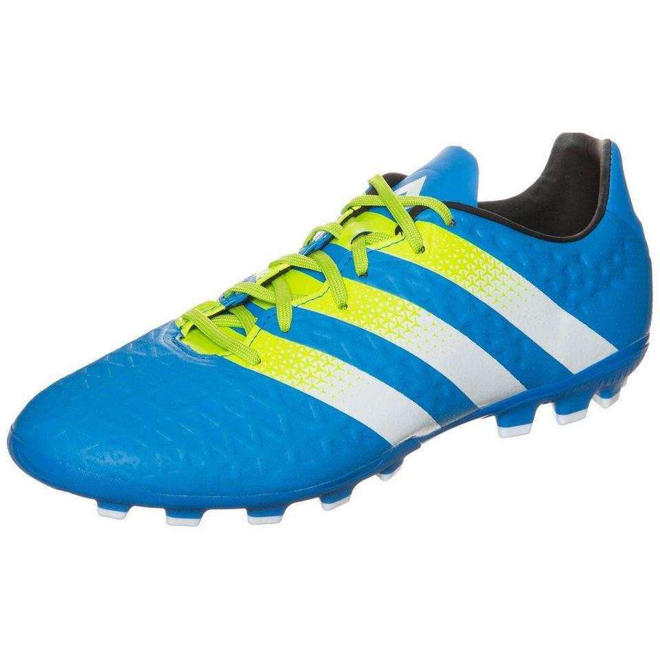 adidas Performance ACE 16.3 AG Fußballschuh Herren in blau / weiß / lime