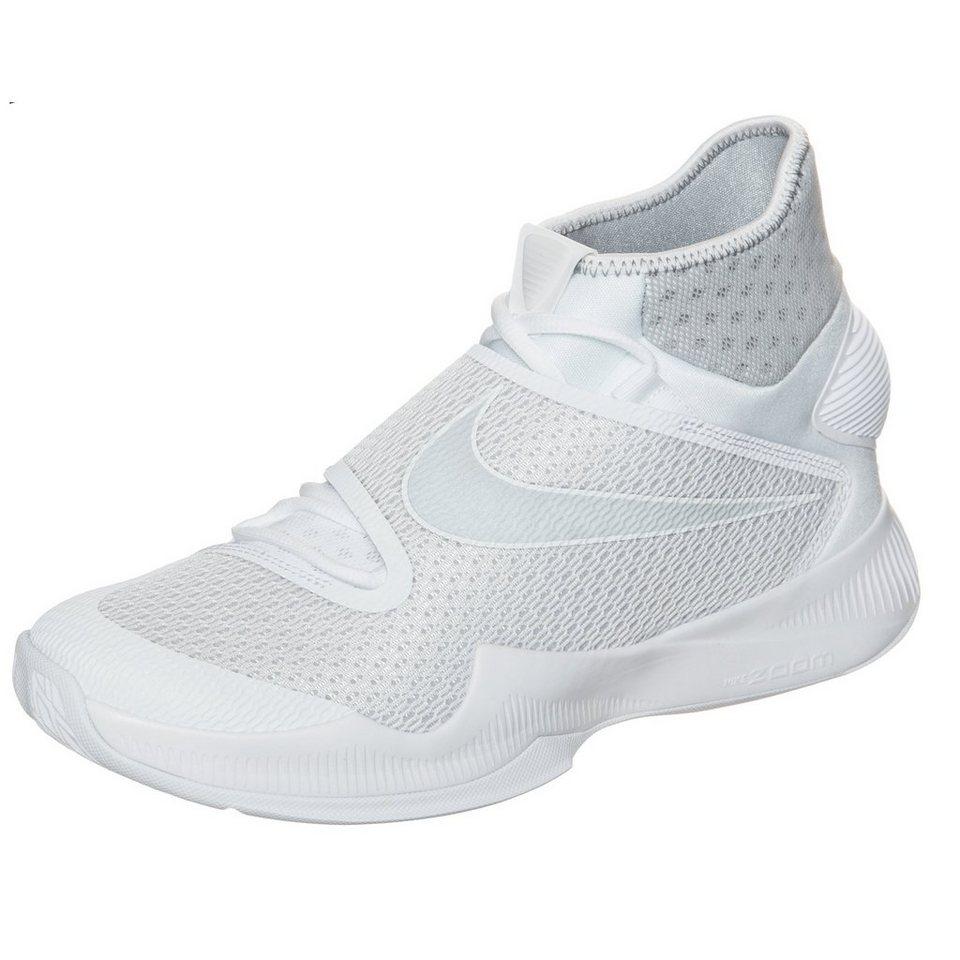 NIKE Zoom HyperRev 2016 Basketballschuh Herren in weiß / grau