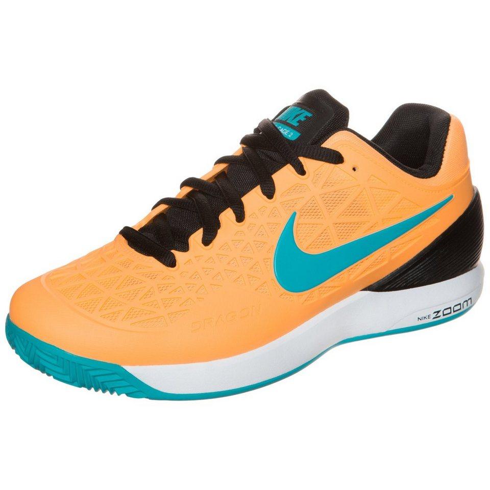 NIKE Zoom Cage 2 Clay Tennisschuh Herren in orange / blau