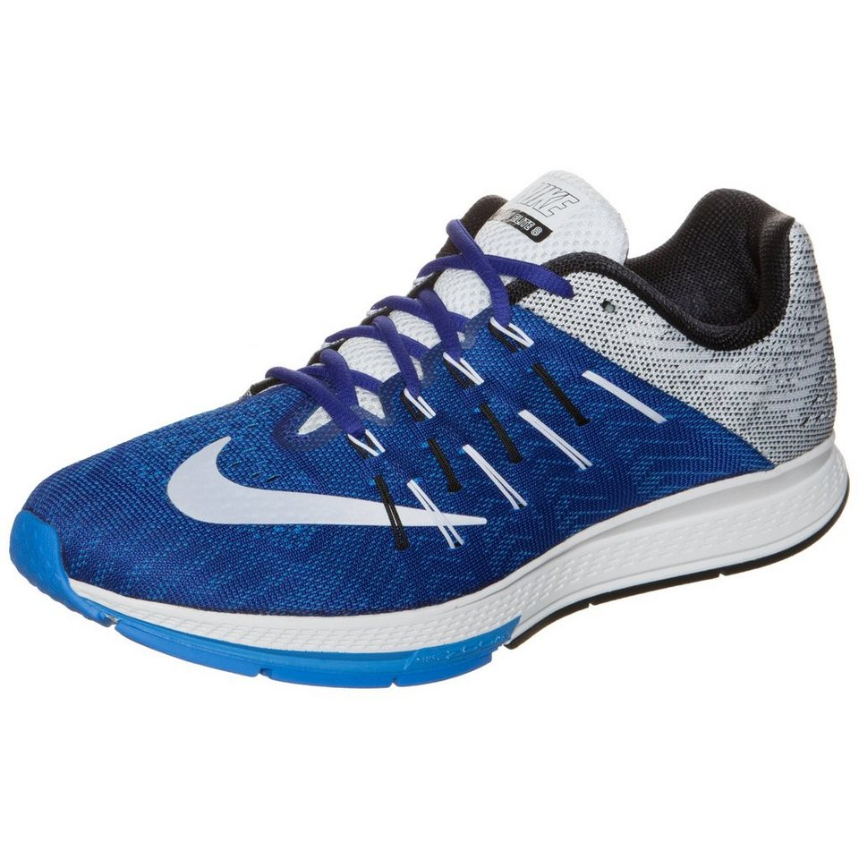 NIKE Air Zoom Elite 8 Laufschuh Herren in blau / weiß