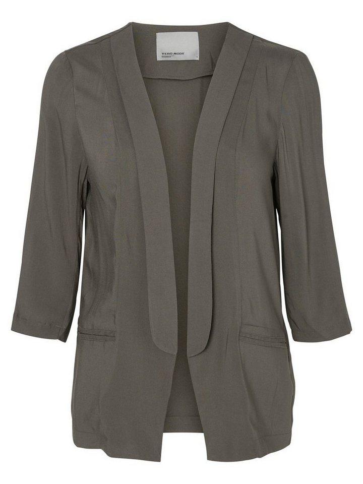 Vero Moda 3/4-ärmeliger Blazer in Beluga