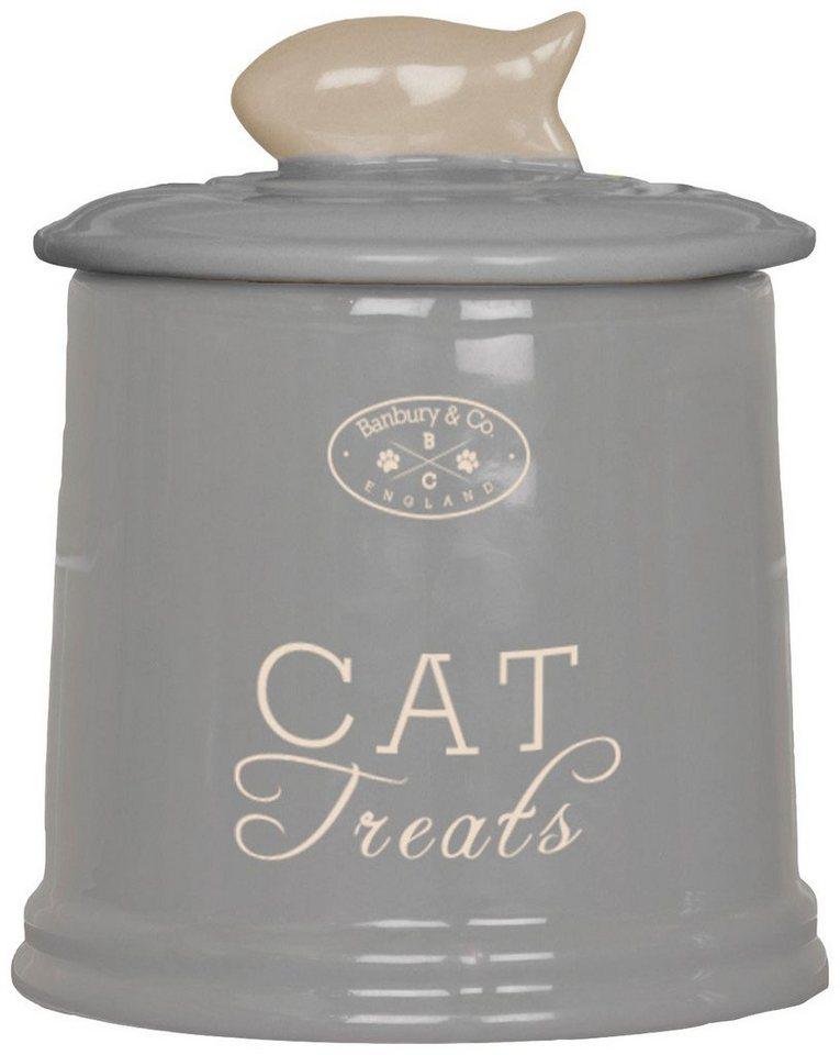 Katzen-Futterbox »Banbury« in grau