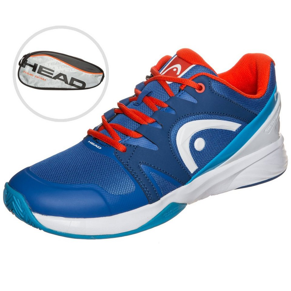 HEAD Nitro Team Tennisschuh Herren in blau / rot / weiß