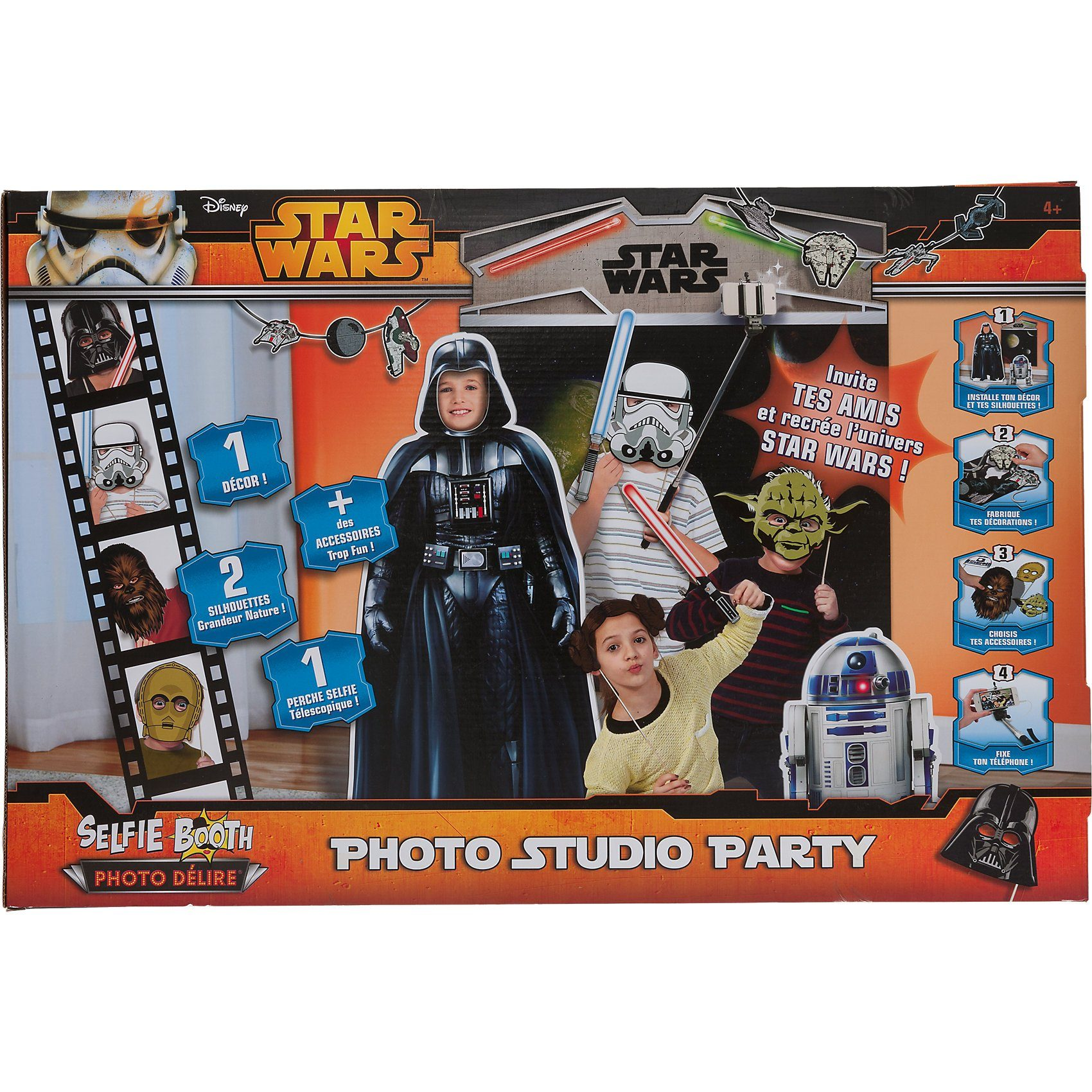 Asmodee Selfie-Set Booth Photo Studio Star Wars