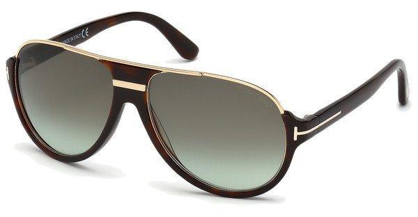 Tom Ford Herren Sonnenbrille »Dimitry FT0334« in 56K - braun/braun