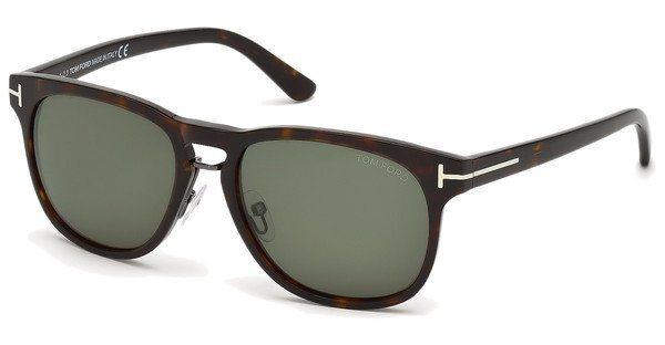 Tom Ford Herren Sonnenbrille »Franklin FT0346« in 56N - braun/grün