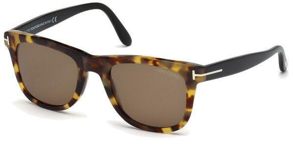 Tom Ford Herren Sonnenbrille »Leo FT0336« in 55J - braun/braun