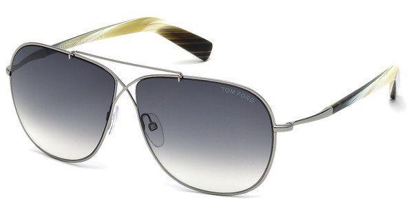 Tom Ford Herren Sonnenbrille »April FT0393« in 15B - grau/grau