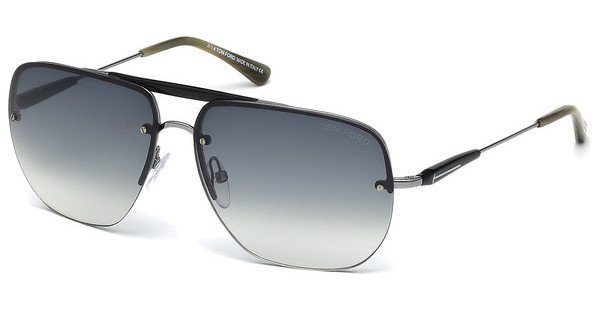 Tom Ford Herren Sonnenbrille »Nils FT0380« in 14B - grau/grau