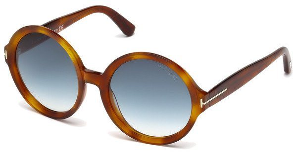 Tom Ford Damen Sonnenbrille »Juliet FT0369« in 56W - braun/blau