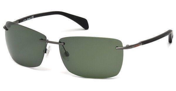 Timberland Herren Sonnenbrille » TB9009« in 08R - schwarz/grün