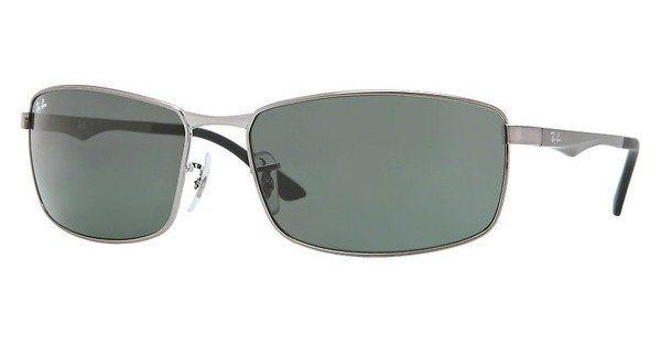 RAY-BAN Herren Sonnenbrille » RB3498« in 004/71 - grau/grün
