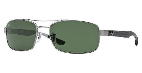 RAY-BAN Sonnenbrille » RB8316« in 004 - grau/grün