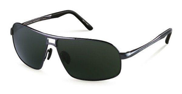 Porsche Design Herren Sonnenbrille » P8542« in C - grau/grün