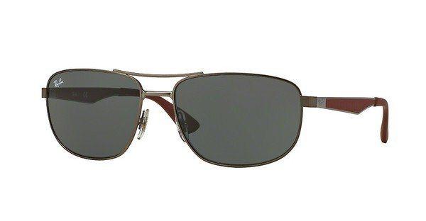 RAY-BAN Herren Sonnenbrille » RB3528« in 190/71 - grau/grün