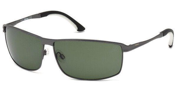 Timberland Herren Sonnenbrille » TB9043« in 09R - schwarz/grün
